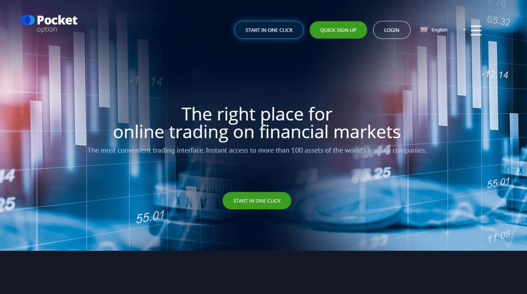 Pocket Option forex broker review